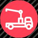 automobile wagon, cargo wagon, shipment, traffic, truck, vehicle icon