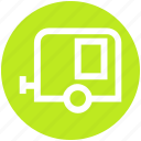 cargo, cargo cabin, delivery, lorry, shipping goods, vehicle icon