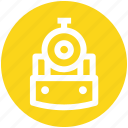 locomotive, metro, rail, subway, train, transport icon