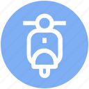 bike, motorbike, motorcycle, racing motorcycle, scooter, sport bike, stunts icon