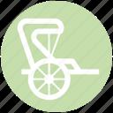 carriage, horse carriage, royal, royal buggy, royal wagon, wedding horse carriage icon