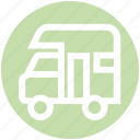 cargo delivery, delivery, transport, truck, van, vehicle icon