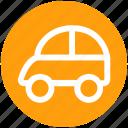 auto car, car, mini car, mini hatch, tarnsport, vehicle icon
