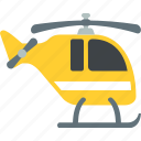 aeroplane, aircraft, chopper, helicopter icon