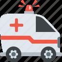 ambulance, emergency, healthcare, medical icon