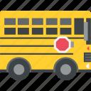 bus, school bus, schoolbus, transport icon