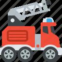 construction, crane, truck, vehicle icon