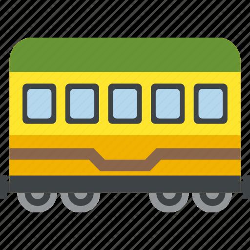 railway, train, tram, wagon icon