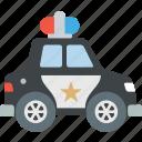 auto, cop, police, vehicle icon