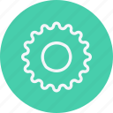 car, cog, cogwheel, gear, gearwheel, settings, wheel icon