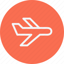 aeroplane, aircraft, airplane, aviation, flight, fly, plane icon