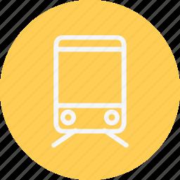 bulet, public, rail, railway, train, tram, tramway icon
