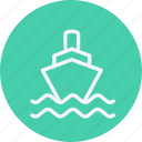 cargo, cruise, ship, transport, travel, vacation, vehicle icon