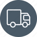 cargo, delivery, logistics, package, transport, van, vehicle icon