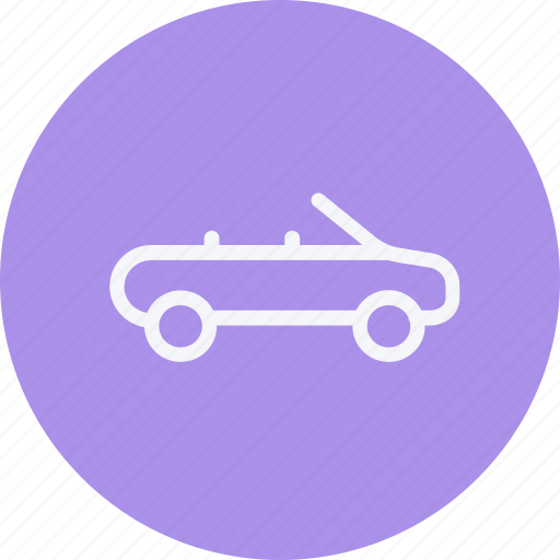 auto, car, convertible, transport, transportation, travel, vehicle icon