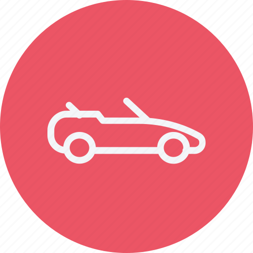 auto, automobile, car, convertible, transport, transportation, vehicle icon