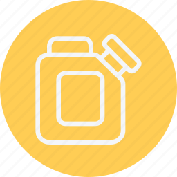car, container, fuel, gasoline, oil, petrol, vehicle icon