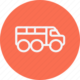 cargo, delivery, milatery, transport, truck, vehicle, wagon icon