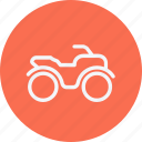 auto, automobile, bike, monster, transport, transportation, vehicle icon