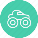 automobile, car, monster, transport, transportation, truck, vehicle icon