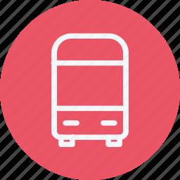 autobus, automobile, bus, coach, public, transport, vehicle icon