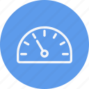 dashboard, measure, meter, performance, speed, speedometer icon
