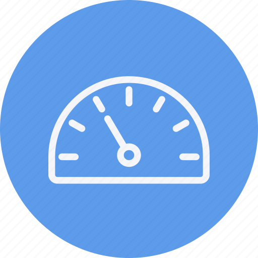 dashboard, measure, meter, performance, speed, speedometer icon