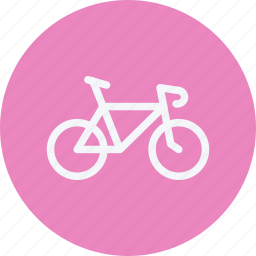 bicycle, bike, cycle, cycling, sports, transport, vehicle icon