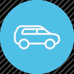 automobile, car, suv, transport, transportation, van, vehicle icon