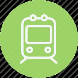 locomotive, public, subway, train, transport, transportation, vehicle icon