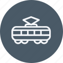 automobile, compartment, train, tramway, transport, transportation, vehicle icon