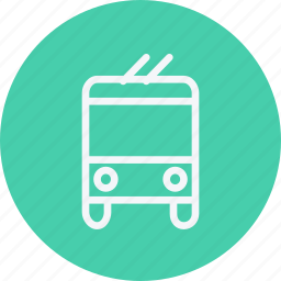 electric, public, rail, tram, tramway, transport, vehicle icon
