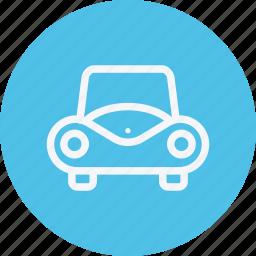 car, transport, transportation, travel, vacation, vehicle, vintage icon