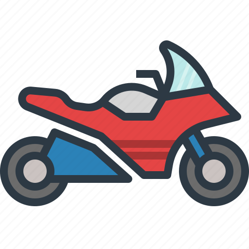 motorbike, motorcycle, speed, speedometer, transport, transportation icon