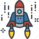 navigation, rocket, science, space, spaceship, startup
