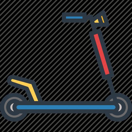 city, public, scooter, transport, transportation, travel icon