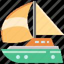 boat, sailboat, tourism, transport, transportation, travel