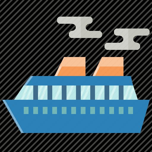 cruise, ship, tourism, transport, transportation, travel, yacht icon