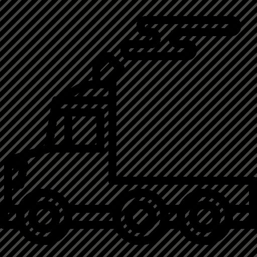 Automobile, car, delivery, logistics, transport, transportation, truck icon - Download on Iconfinder
