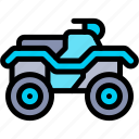 atv, transport, transportation, vehicle icon