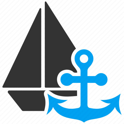 boat anchor, marine, nautical, sail, voyage, weigh, yacht icon