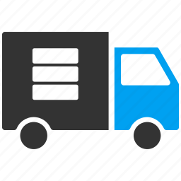 data transfer, database, deliver, shipment, shipping, transport, transportation icon