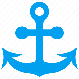 anchor, link, marine, nautical, navigation, sea port, seo icon