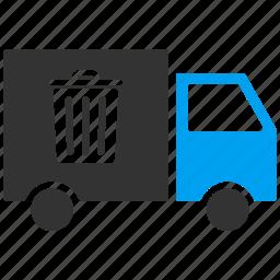 container, garbage, recycle, rubbish, trash bin, trashcan, waste icon