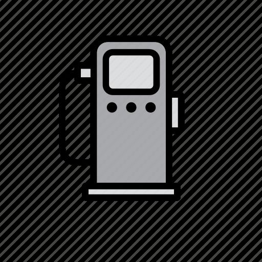 car, dispenser, fuel, gas station, gasoline, oil, petrol icon