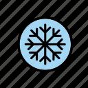 auto, car, cardial, gauge, indicator, snow, snowflake icon