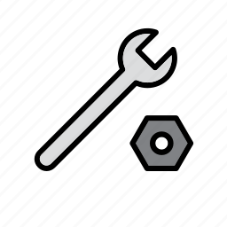 auto, automobile, car, garage, repair shop, tool, wrench icon