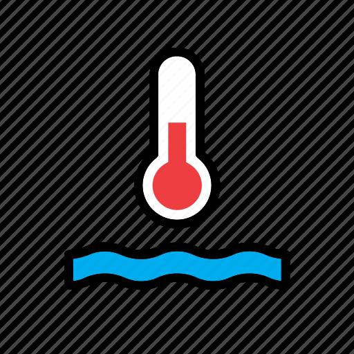 auto, car, dial, gauge, indicator, temperature, thermometer icon