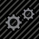 cog, cogwheel, engine, gear