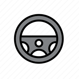 auto, automobile, car, garage, repair shop, steering, wheel icon